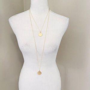 LOFT Two Pendant Necklace